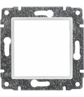 Uchwyt do instalacji modułów 45x45 z redukcją ramki Seria VENA, BIAŁY 510445