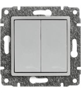 Zaślepka modułowa (2szt. 22,5mmx45mm) Seria VENA, BIAŁY 510480