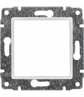 Uchwyt do instalacji modułów 45x45 z redukcją ramki Seria VENA, BIAŁY ANTYBAKTERYJNA POWŁOKA 590445