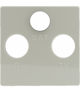 Pokrywa do gniazda RTV-SAT Seria VENA, KREM 5103076