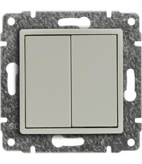 Zaślepka modułowa (2szt. 22,5mmx45mm) Seria VENA, KREM 510380