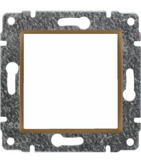 Uchwyt do instalacji modułów 45x45 z redukcją ramki Seria VENA, PATYNA 513045
