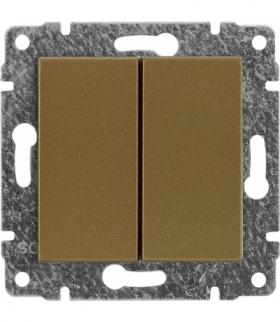 Zaślepka modułowa (2szt. 22,5mmx45mm) Seria VENA, PATYNA 513080