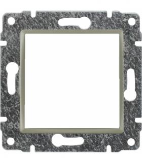 Uchwyt do instalacji modułów 45x45 z redukcją ramki Seria VENA, SATYNA 515045
