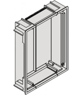 Puszka podtynkowa pojedyncza łączeniowa / 262mm x 205mm Seria VENA OFFICE, SZARY 5500900