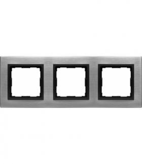METAL Ramka 3x Seria VENA2 Metal, INOX 5243283