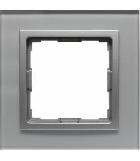 Ramka 1x Seria VENA2, ALUMINIUM + aluminum 5240181