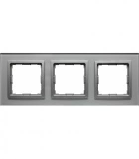 Ramka 3x Seria VENA2, ALUMINIUM + aluminum 5240183