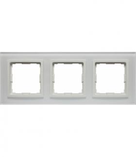 Ramka 3x Seria VENA2 Xglass, BIAŁY + biały 5204183