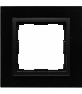Ramka 1x Seria VENA2 Xglass, CZARNY + antracyt 5209181