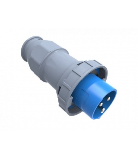 Wtyczka przemysłowa - przenośna 16A 3p 220V-250V IP67 F7.0106