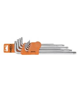 Zestaw kluczy pięciokątnych z otworem - NEO Tools 09-520