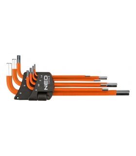 Zestaw kluczy sześciokątnych - NEO Tools 09-517