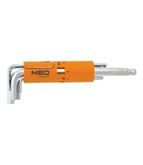 Zestaw kluczy sześciokątnych - NEO Tools 09-523