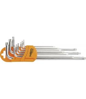 Zestaw kluczy Torx - NEO Tools 09-516