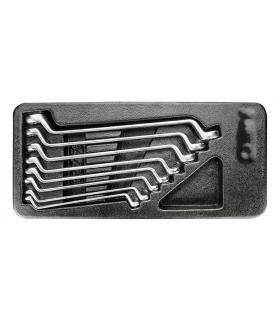 Zestaw kluczy oczkowych odgiętych - NEO Tools 84-233