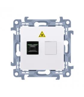 Gniazdo światłowodowe / optyczne pojedyncze biały CGS1.01/11