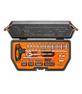 """Zestaw kluczy nasadowych 34 elementy 1/4"""" - NEO Tools 08-601"""
