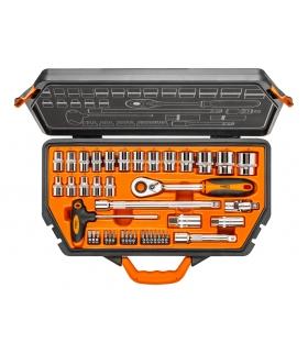 """Zestaw kluczy nasadowych 42 elementy 1/2"""" - NEO Tools 08-621"""