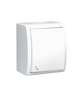 Łącznik schodowy bryzgoszczelny biały 10AX AQW6/11