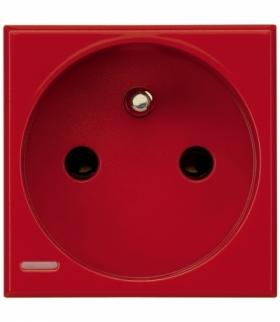 AXOLUTE - Gniazdo czerwone 2P+Z Legrand H4142R