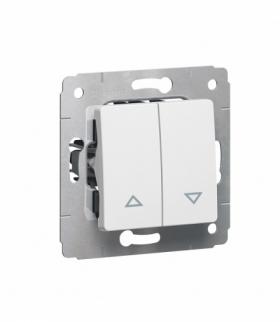 CARIVA Przycisk sterowania roletami (blokada elektryczna) BIAŁY 10A-250V Legrand 773614