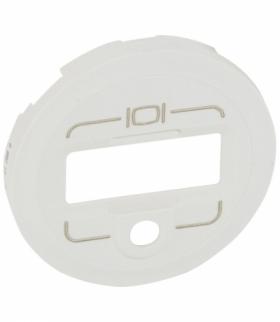 CELIANE Plakietka do gniazd HD15+Jack 3,5 mm biała Legrand 068219
