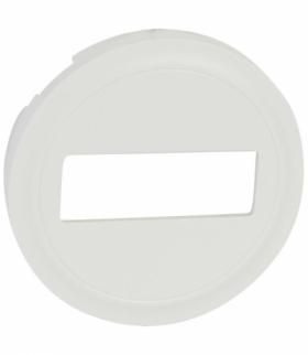 CELIANE Plakietka do gniazd światłowodowych SC/APC biała Legrand 068295