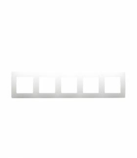 Niloe Ramka Pięciokrotna - Biała Legrand 665005