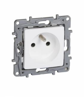 Niloe/Niloe Selection - Gniazdo 2P+Z 16 A - 250 V (bez przesłony, zaciski śrubowe) - Biały Legrand 764540