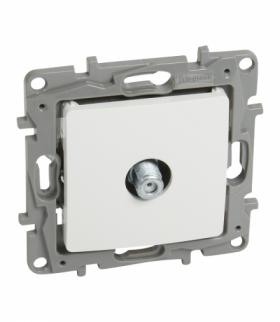 Niloe/Niloe Selection - Gniazdo TV - Typu F końcowe do instalacji typu gwiazda 1 dB - Biały Legrand 764550