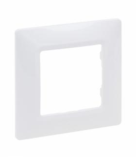 Niloe Selection Ramka Pojedyncza Biały Legrand 762001
