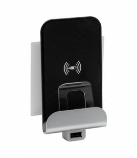Niloe Step Indukcyjna stacja ładująca 5 V - 1000 mA + USB 5 V - 2400 mA - Biały Legrand 863039
