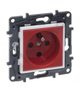 Niloe Step Gniazdo 2P+Z 16 A - 230 V - Blokowane, z przesłoną, zaciski automatyczne - Czerwone Legrand 863031