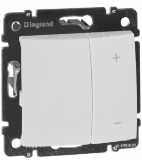 Valena biały ściemniacz przyciskowy 600W BIAŁY Legrand 770074