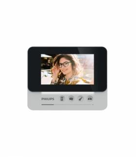 """Philips WelcomeEye AddCompact, Monitor do rozbudowy zestawów z serii WelcomeEye Compact, 4,3"""" ekran, sterowanie bramą, interkom"""