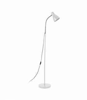 Lampa stojąca podłogowa LAR, max 20W E27, 155 cm, biała Orno LS-1/W