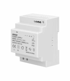 Zasilacz na szynę DIN 12VDC, 7A, 84W, szerokość 4 moduły Orno OR-PSU-1645