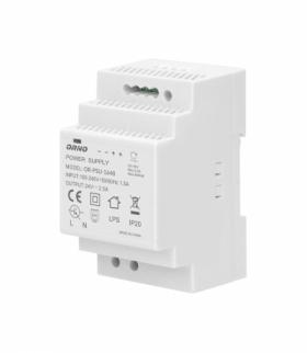 Zasilacz na szynę DIN 24VDC, 2,5A, 60W, szerokość 3 moduły Orno OR-PSU-1648