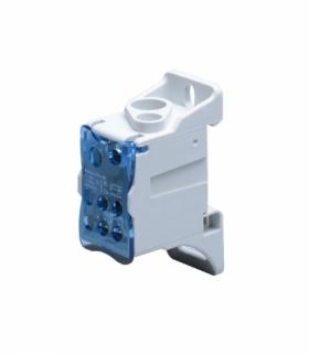 Blok rozdzielczy 125A, zaciski wejściowe 1x16 i 1x35mm², zaciski wyjściowe 6x16mm² Orno OR-LZ-8200/125