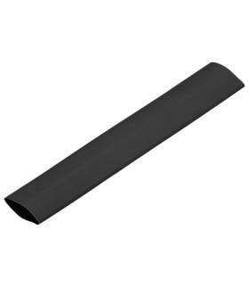 Koszulka termokurczliwa Ø13mm 1m, blister, czarna Orno OR-KT-13220/B