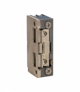 Elektrozaczep symetryczny z prowadnicą i blokadą, MINI, NISKOPRĄDOWY 280mA dla 12VDC Orno OR-EZ-4035