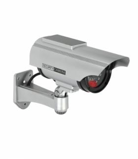 Atrapa kamery monitorującej CCTV z panelem solarnym Orno OR-AK-1207/G
