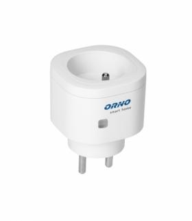 Gniazdo sieciowe ORNO Smart Home sterowane bezprzewodowo, z odbiornikiem radiowym Orno OR-SH-1732