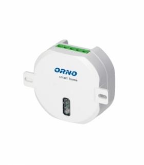 Przekaźnik roletowy ORNO Smart Home podtynkowy (dopuszkowy) sterowany bezprzewodowo, z odbiornikiem radiowym, maks. moc silnika