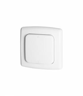 Włącznik pojedynczy natynkowy, do zdalnego sterowania włącznikami podtynkowymi i gniazdami,z nadajnikiem radiowym, ORNO Smart Ho