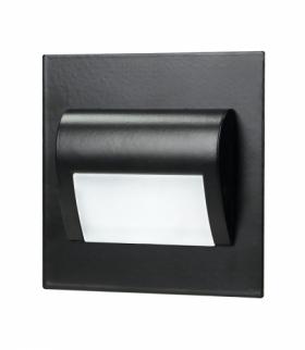 Oprawa schodowa LED DRACO NEW czarna barwa ciepła Orno OR-OS-6164L3/B