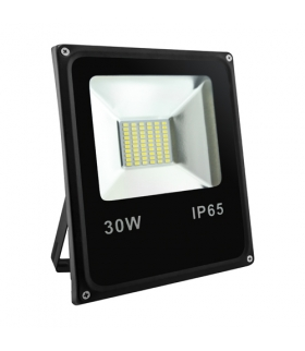 OLIMP LED 30W BLACK 4500K Naświetlacz SMD LED