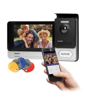 """Philips WelcomeEye Connect, WiFi, monitor 7"""" z panelem dotykowym i pamięcią, 531102"""
