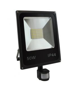 Naświetlacz SMD LED z czujnikiem ruchu 02827 OLIMP LED S 50W BLACK 4500K